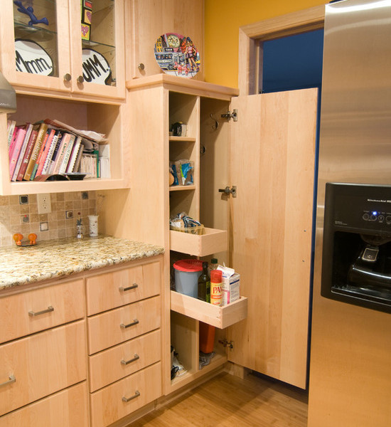 Natural Maple Kitchen Cabinets: Natural Maple Kitchen