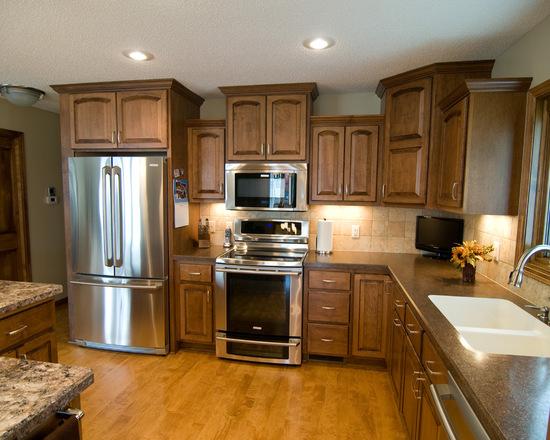 Custom Kitchen Maple Cabinets