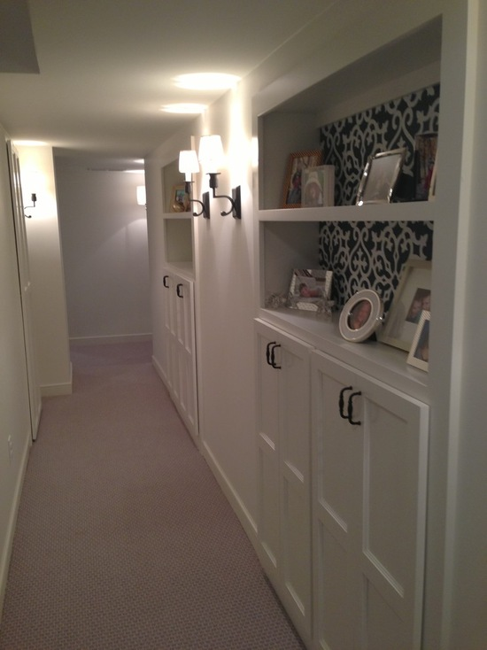 basement storage custom cabinets